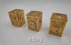 3pcs Saint Seiya Myth Clot Sog Aries Taurus Gemini soul of Gold Pandora Box