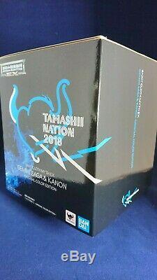 BANDAI Saint Seiya CLOTH MYTH EX GEMINI SAGA & KANON ORIGINAL COLOR EDITION f/s