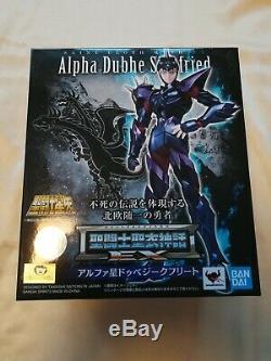 BANDAI Saint Seiya Cloth Myth EX Dubhe Alpha Siegfried Action Figure
