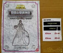 BANDAI Saint Seiya Cloth Myth Saori Kido Athena God Action Figure Used