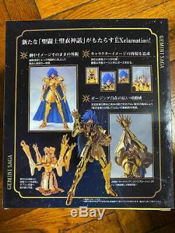 BANDAI Saint Seiya Myth Cloth EX Gold Saint Gemini Saga Initial product version