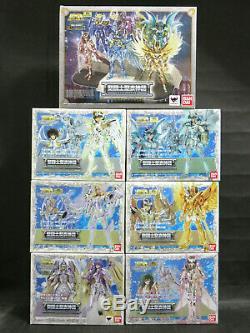 BANDAI Saint Seiya Myth Cloth Pegasus Dragon Athena. God cloth 6 figures set