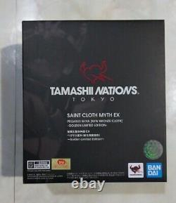 BANDAI TAMASHII NATIONS TOKYO 2019 Limited Saint Seiya Myth Cloth EX Seiya Gold