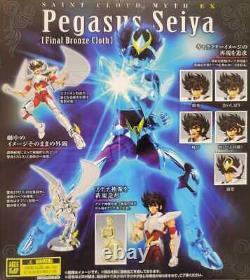 Bandai Saint Cloth Myth EX Pegasus Seiya (Final Bronze Cloth) USA