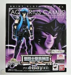 Bandai Saint SEIYA Myth Cloth Ex Aquarius Camus Surplice Hades saga