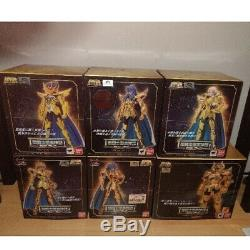 Bandai Saint Seiya Cloth Myth EX Soul of Gold Gold Cloth 12 Set Figure Japan F/S