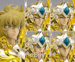 Bandai Saint Seiya Cloth Myth God EX Soul of Gold Leo Aioria Bonus Action Figure