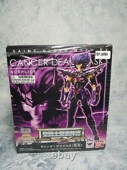 Bandai Saint Seiya Myth Cloth EX Cancer Deathmask Surplice Ver. AUTHENTIC Figure