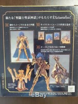 Bandai Saint Seiya Myth Cloth EX Gold Gemini Saga Cloth Revival Ver