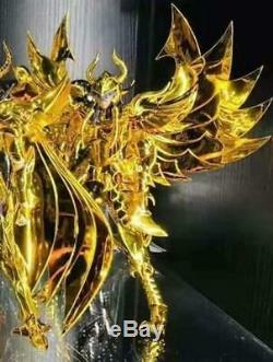 CS Model Saint Seiya Myth Cloth EX Hades Garua Aiakos Golden Limited 30 Figure
