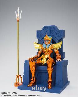 Emperor Poseidon Imperial Throne Set Saint Seiya Myth EX BANDAI New