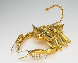 FROM JAPANSaint Seiya Cloth Myth EX Scorpion Milo Action Figure Bandai
