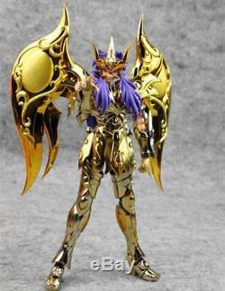 GT Great Toys Saint Seiya Myth EX Soul of God SOG Gold Scorpio Milo metal Cloth