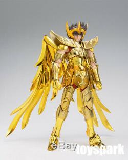 IN STOCK BANDAI Saint Seiya EX Myth SAGITTARIUS SEIYA GOLD CLOTH action figure