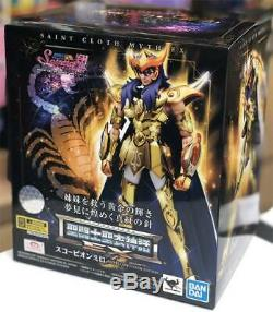 IN STOCK Bandai Saint Seiya Cloth Myth EX Scorpio Milo Saintia Sho Color Edition