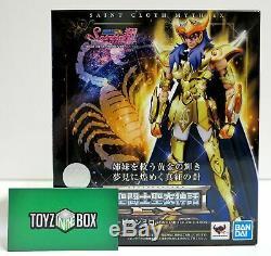 In STOCK Bandai Saint Seiya Myth Cloth EX Scorpio Milo SHO Edition Action Figure