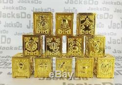 Jacksdo Saint Seiya Myth Cloth 12 Gold Pandora Box Set