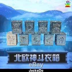 Jacksdo Saint Seiya Myth Cloth Asgard Pandora Box Set Limited 100