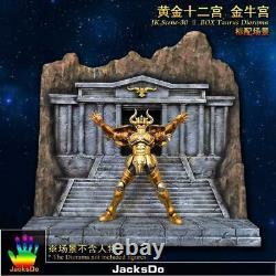 Jacksdo Saint Seiya Myth Cloth Diorama Taurus Taureau Temple Limité 100