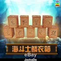 Jacksdo Saint Seiya Myth Cloth Poseidon Pandora Box Set Limited 100