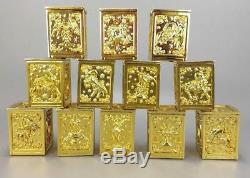 Jacksdo Saint Seiya Myth Cloth Soul of God 12 EX Gold Pandora Box Set