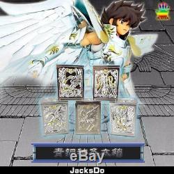 Jacksdo Saint Seiya Myth God Cloth Seiya Shiryu Hyoga Shun Ikki Pandora Box Set