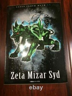 NEW MISB IN STOCK Bandai Saint Seiya Myth Cloth EX Mizar Zeta Syd USA SELLER