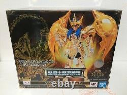 NEW Saint Seiya Myth EX Scorpio Milo God Cloth Soul of Gold action figure Bandai