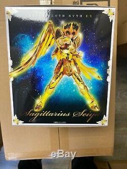 NEW Saint Seiya Sagittarius Seiya Saint Cloth Myth EX Action Figure
