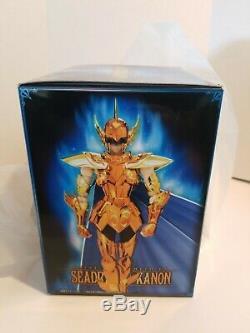 New Bandai Myth Cloth Ex Sea Dragon Kanon Saint Seiya Gold Action Figure. Nib
