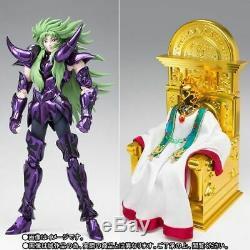 P Bandai Saint Seiya Cloth Myth EX Aries Shion Surplice+Former Grand Pope Set