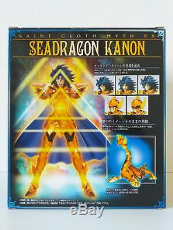 SAINT SEIYA BANDAI EU Myth Cloth EX Seadragon Kanon POSEIDON General Marina USED
