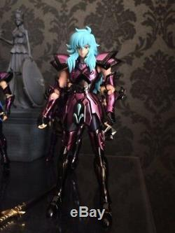 ST MC Saint Seiya Cloth Myth Specters EX Surplice black Pisces Aphrodite metal