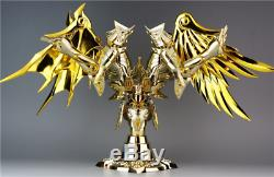 ST S-Temple MC Saint Seiya Cloth Myth EX Gold OCE Gemini Aiolos Metal Fans Gift