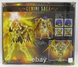 Saint Cloth Myth EX Gemini Saga God Cloth Seiya Bandai Figure Mint Just opened