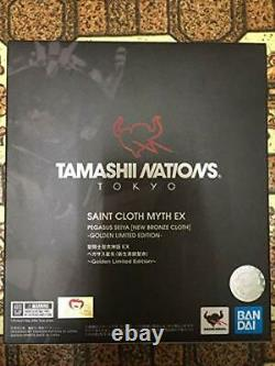 Saint Cloth Myth EX Pegasus Seiya Shinsei Bronze Cloth GOLDEN LIMITED EDITION