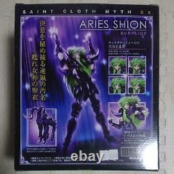 Saint Seiya Cloth Myth EX Aries Shion Surplice BANDAI Tamashii figure