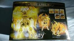Saint Seiya Cloth Myth EX Taurus Aldebalan God Cloth Soul of Gold MISB
