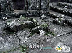 Saint Seiya Darkness Sanctuary Base Stand Model Resin Saint cloth myth GK 11PCS