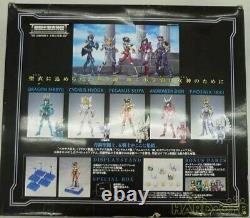 Saint Seiya Five Warriors Gathered Bronze Saint Concentration Myth Cloth Bandai