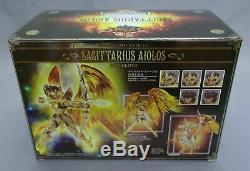 Saint Seiya Myth Cloth EX Sagittarius Aioros God Cloth Soul Of Gold Bandai NEW