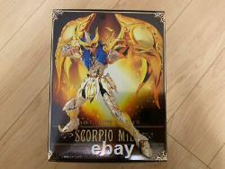 Saint Seiya Myth Cloth EX Scorpio Milo God Cloth Soul of Gold bandai