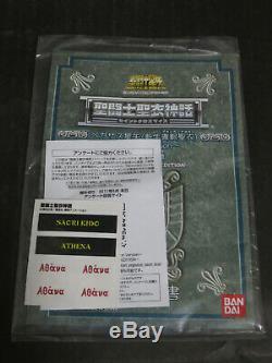 Saint Seiya Myth Cloth Pegasus Seiya Broken ver. Goddess Athena (Kido Saori) set