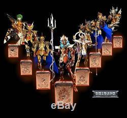 Saint Seiya Myth Cloth Poseidon 9 Metal Pandora Box Set Limited 200