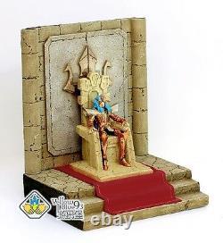 Saint Seiya Myth Cloth Scene Poseidon + Throne + Carpet