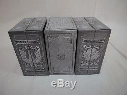 Saint Seiya Myth Cloth V2 Bronze Figure 5 Complete Set Display Stand Bandai NEW