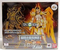 Saint Seiya Myth God Cloth EX Capricorn Shura Soul of Gold Action Figure