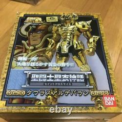 Saint Seiya Myth Gold Cloth Taurus Aldebaran Action Figure Bandai TOEI Animation