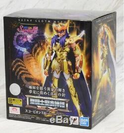 Saint Seiya Saint Cloth Myth EX Scorpio Milo Saintia Sho Color Edition Bandai