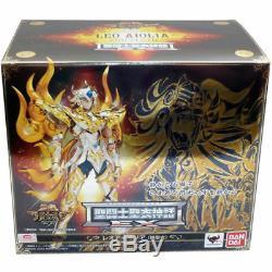 Saint Seiya Soul Of Gold Leo Leone EX Aiolia God Myth Cloth Figure + Accessori